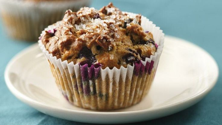 Treat your family to these oats and blueberry muffins made with Yoplait® Lactose Free yogurt.