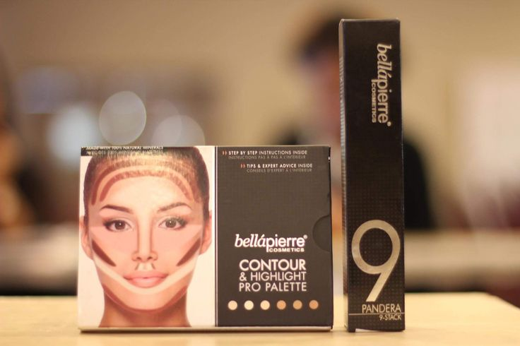 Key products this season @bellapierre #contourpalette and #pigmentstack to create perfect definition and smoky eyes! #modellook #nyfw #catwalkmakeup #runwaylooks