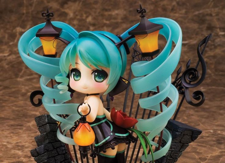 Character Vocal Series 01 Statue Lamp Miku feat. Nekozakana 15 cm - Vocaloid