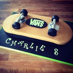 how to make a skateboard cake - Google Search