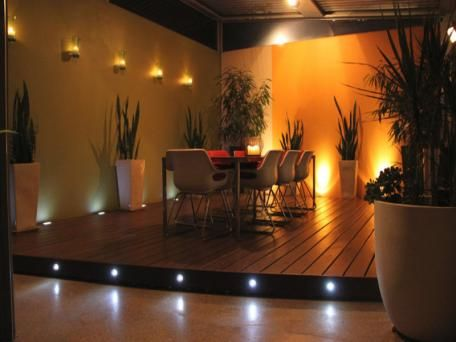 Decking with lights