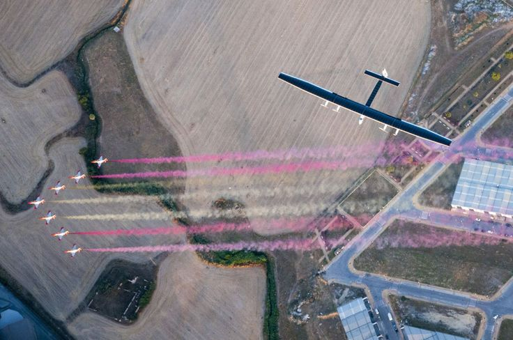 <p>The fifteenth part of Solar Impulse 2′s journey want from the U.S. over to Sevilla, Spain. (Solar…