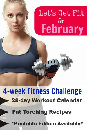 """Ready to Get """"Fit4Feb"""": Welcome to our February Fitness Challenge ! 