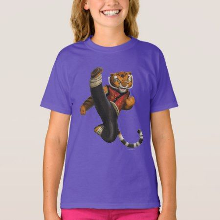 Tigress Kick T-Shirt - tap to personalize and get yours