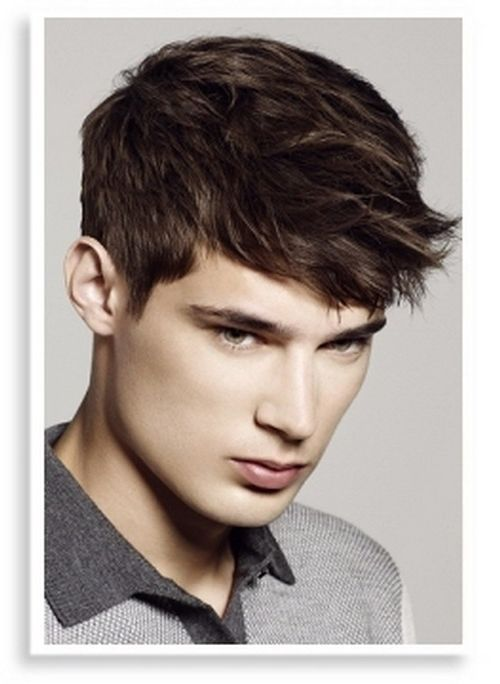 Best Haircuts For Guys With Straight Hair : 32 best the opposite of bed head images on pinterest