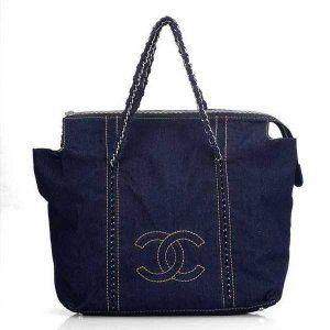 Sac Chanel spécial Denim Bleu profond et Pas Cher Vente CCS477,sac chanel pas cher  €127.00