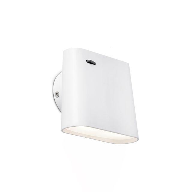 Aplique de pared orientable con LED #iluminacion #decoracion #diseño #interiorismo #lamparas #apliques #focosluz #lucesdecasa
