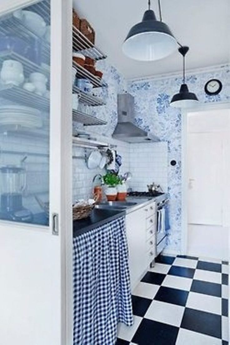 Cool Rustic Scandinavian Kitchen Decor