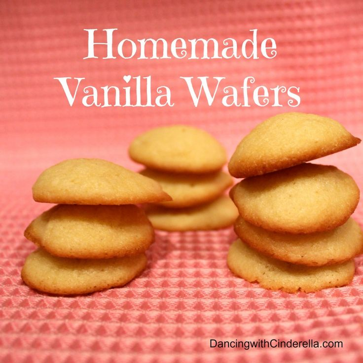 Homemade Vanilla Wafers | To try ~ tasty treats | Pinterest