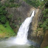 Water fall Nuwara Eliya