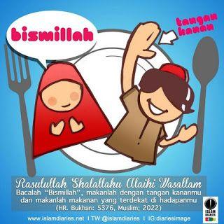 LUTFI EFFENDI: Membaca  Bismillah Ketika Mau Makan