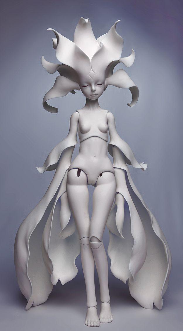 dollzone anson, blank