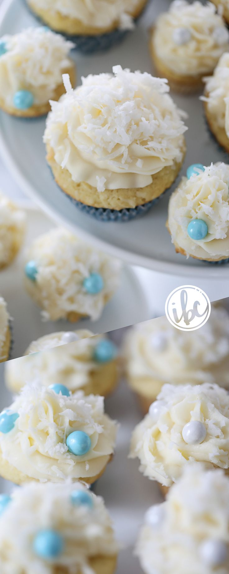 The Ultimate Coconut Cupcakes / spring easter dessert recipe    Inspired by Charm