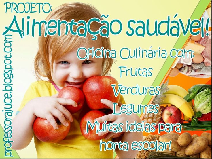 Populares 11 best Projeto alimentação saudável para educação infantil images  SW97