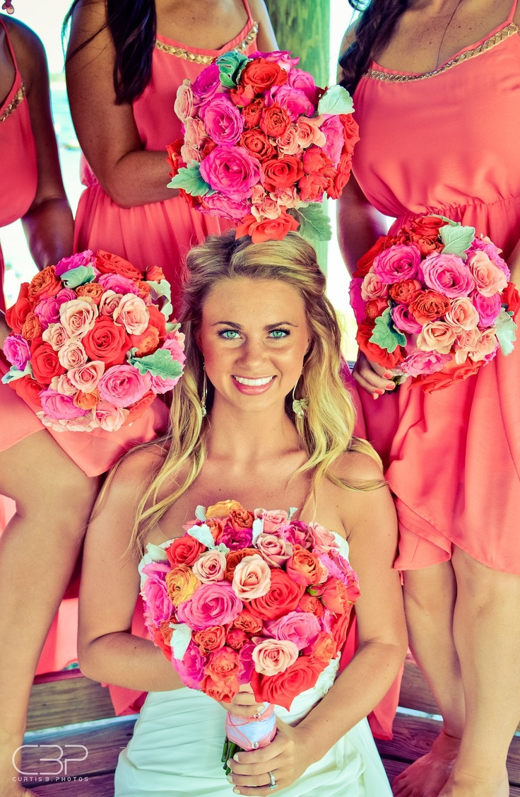 Bright Colors For Beach Wedding Final Wedding Plans