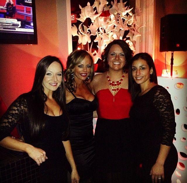 Jenn, Genny, Jennifer, and Jennifer....It gets confusing around here! Christmas Party 2013