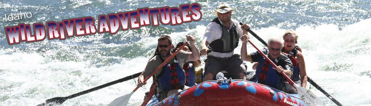 White water rafting with Wild River Adventures in Riggins, IdahoWild Rivers, Rivers T-Shirt, Rivers Adventure