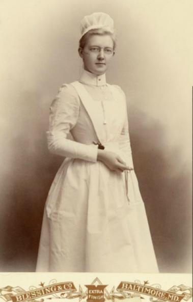 Nurse outfit-this is what we used to wear!