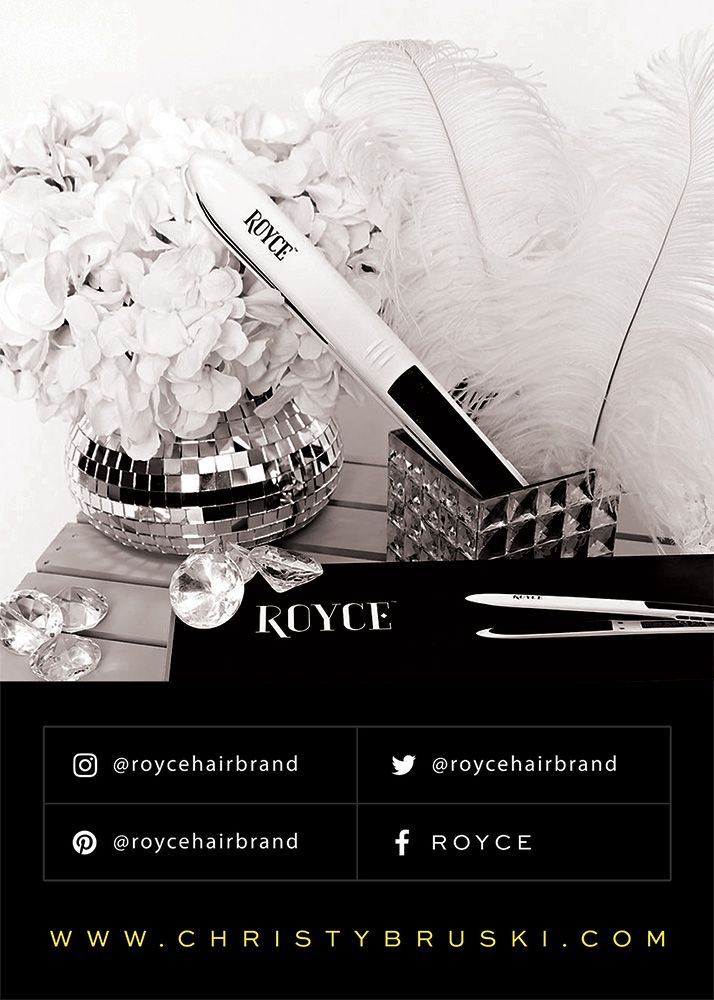 Does your hair straightener curl, wave and straighten your? Does it give you a seamless style all the way down to the root? Does your flat iron leave your hair shiny and silky smooth? Check out the newest, most luxury hair tool brand!  ROYCE...