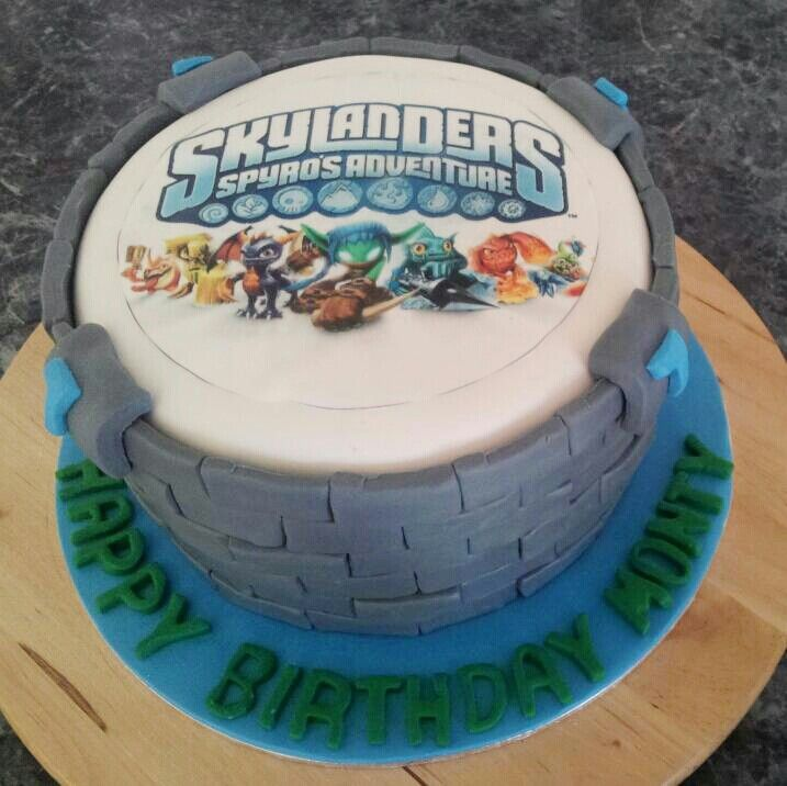 Skylander Themed Birthday Cakes