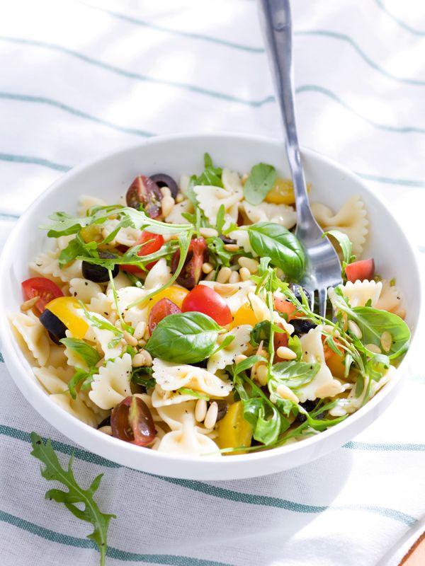 Salade de pâtes estivale