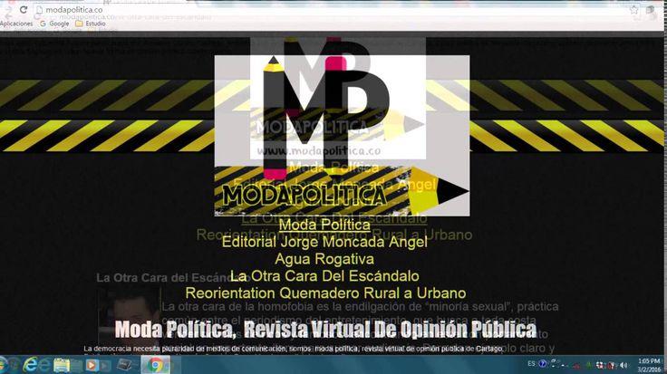 Moda Política Revista Virtual de Opinión Pública www.modapolitica.co