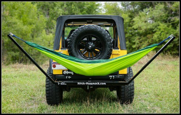 Hitch Hammock Jeep Camping Jeep Hammock Jeep Gear