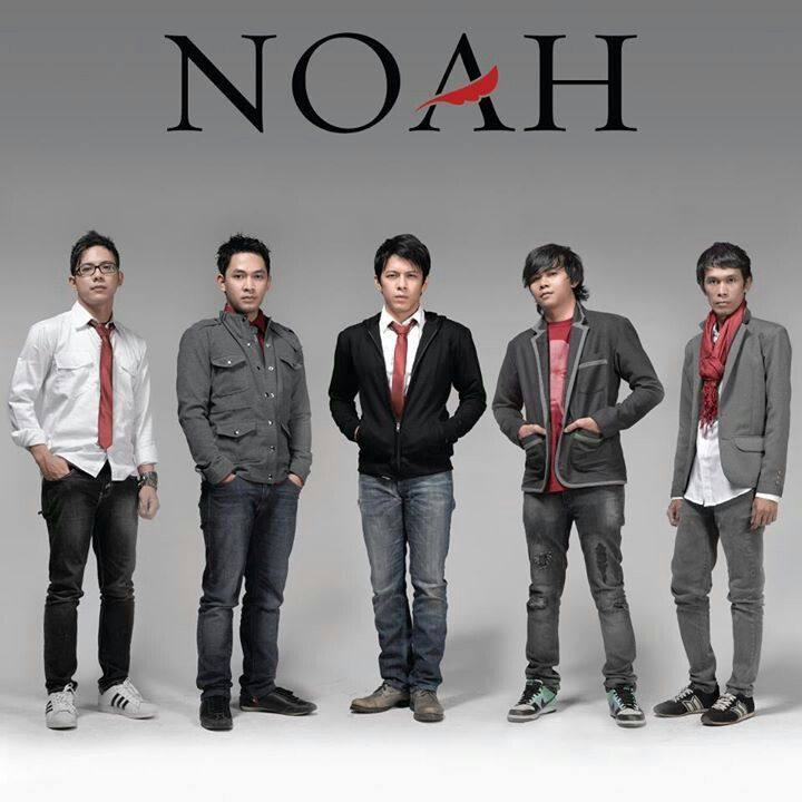 Noah band from indonesia