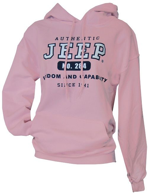 All Things Jeep - Pink Authentic Jeep Hooded Sweatshirt