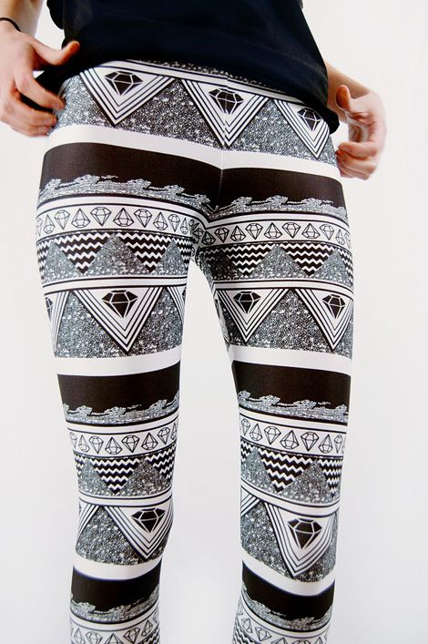 Diamond LeggingsFashion, Style, Legs 3 3 3, Clothing, Legs 333, Awesome Tights, Diamonds Legs, Black Leggins, Leggings
