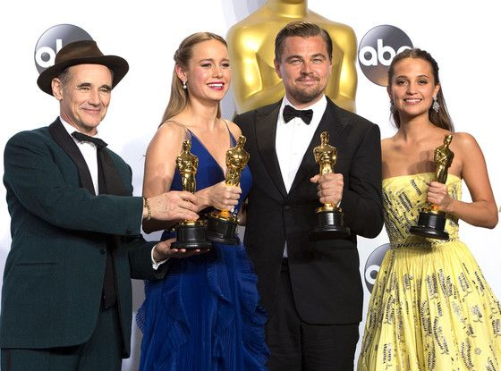 The 2016 Oscar Winners May Be Having a Good Week, but Here's Why Their Lives Are About to Get so Much Better | E! Online