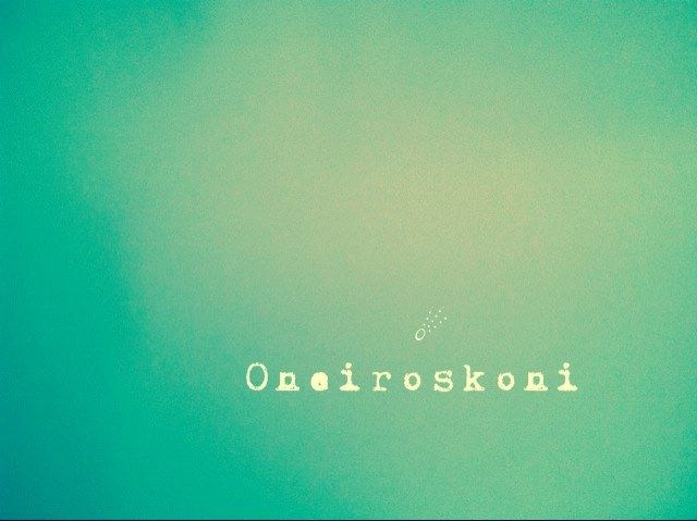 """Oneiroskoni is a page on Facebook ,written in the Greek language as """"Ονειροσκονη""""...which means dream powder...a page for unique handmade objects and crafts"""