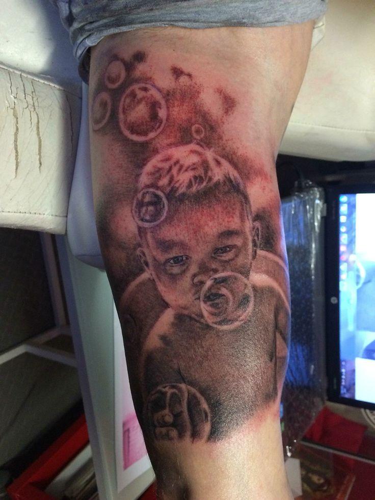 Tattoo portret