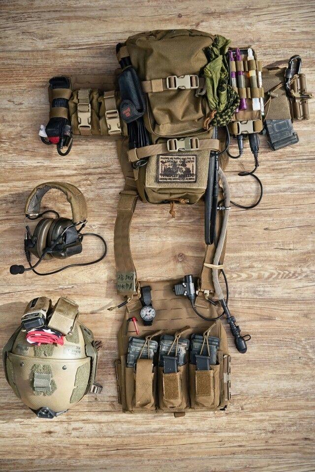Raider loadout