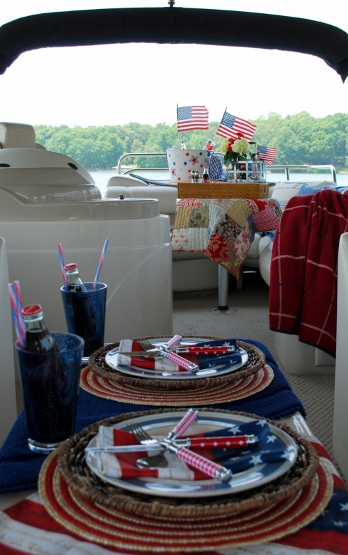 fourth of july boat food