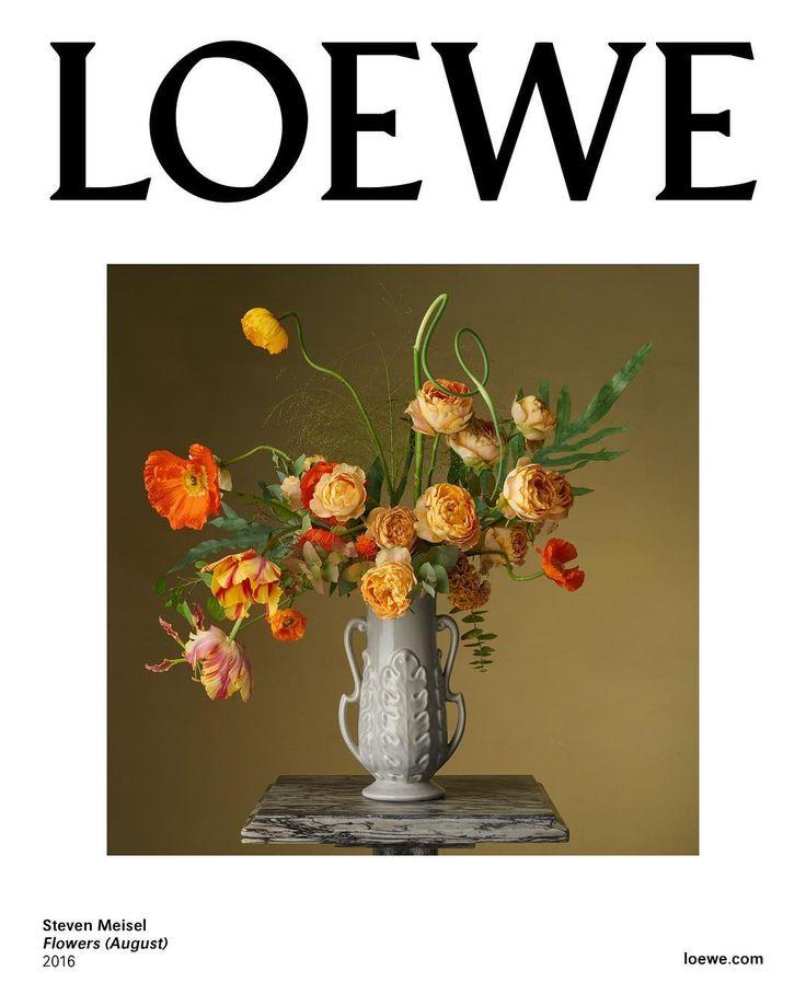 Med-res. Steven Meisel for Loewe - Flowers (August), 2016