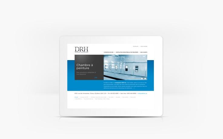 DRH INC. | www.drhinc.ca | Site Web | Team Marketing • Web • Design