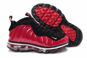 official photos 3ac3e 1c28c red and black nike air foamposite max women shoes by Mortonhgf