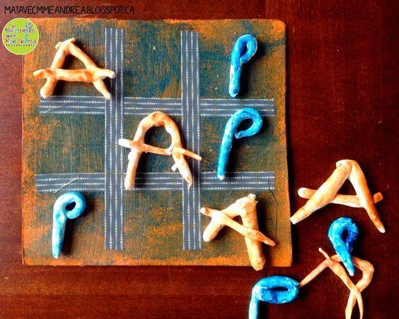 50 best f te des p res et m res images on pinterest parents 39 day craft kids and crafts - Comment fabriquer le jeu tac tik ...