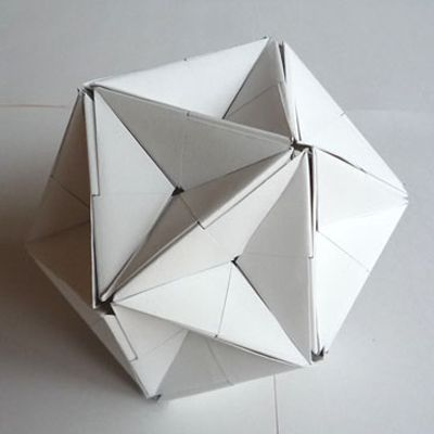 Great Dodecahedron by Jun Mitani