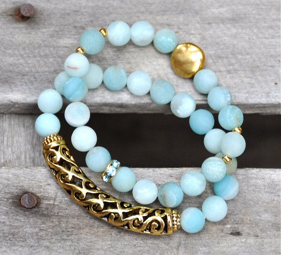 blue + gold