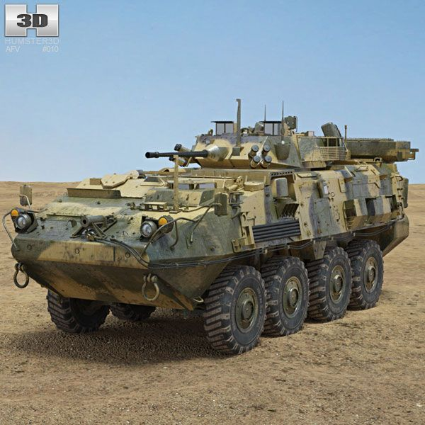 LAV III 3d model from humster3d.com. Price: $95