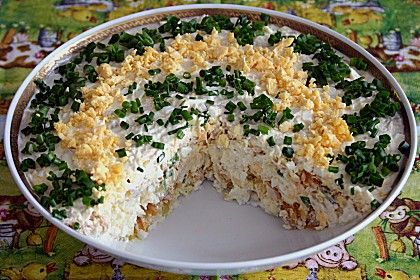Schichtsalat mit Thunfisch nach japanischer Art (Rezept mit Bild)   Chefkoch.de