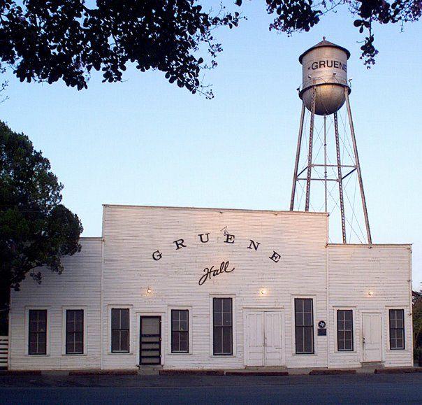 Gruene Hall (Oldest operating dancehall in Texas), outside New Braunfels