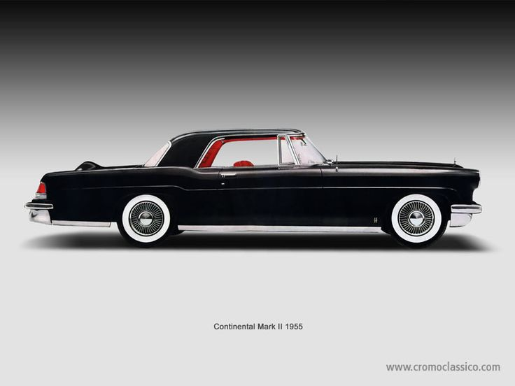 lincoln continental mark ii ford 39 s continental division from 56 57 classic cars pinterest. Black Bedroom Furniture Sets. Home Design Ideas