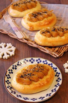 「安納芋のスイートポテトパン☆」ぱお | お菓子・パンのレシピや作り方【corecle*コレクル】