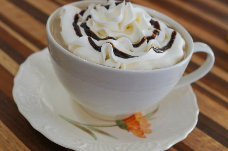 In the Kitchen with Jenny: White Chocolate Mocha Coffee