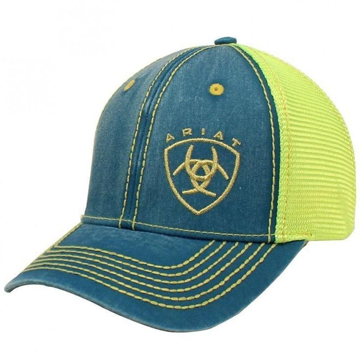ARIAT MESH SNAP CLOSURE CAP  The perfect cap to keep you cool this Summer $39.95