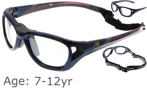 6d6b43366e 7-12 yrs  Rec Specs Sport Shift Sports Glasses   Goggles ASTM  Shiny ...
