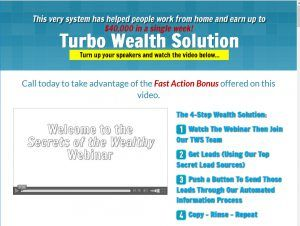 Turbo Wealth Solution- What's the Solution?